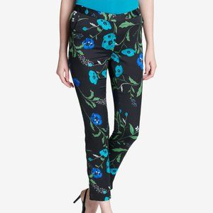 Calvin Klein Floral-Print Ankle Pants .NWT!